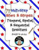 Multistep Stars and Stripes: Temporal, Spatial, & Sequential Directions