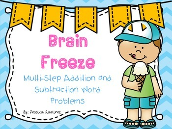 Multistep Word Problem Task Cards: Addition and Subtraction