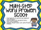 Multistep Word Problem Task Cards Scoot Game