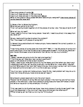 Multistep Word Problems- 2 lessons (CCSS)