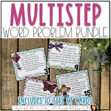 Multistep Word Problems GROWING BUNDLE