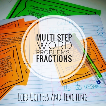 Multistep Word Problems Fractions - Eureka Math