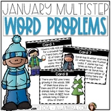 Multistep Word Problems {January}