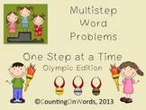 Multistep Word Problems, Step by Step: Olympic Edition