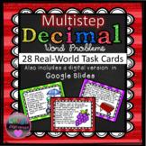 Multistep Word Problems involving Decimals (SOL 6.7)