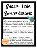 Multisyllabic Black Hole Breakdowns