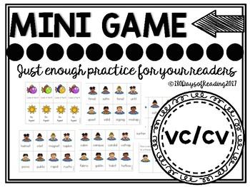 Multisyllabic CVCCVC Phonics Game