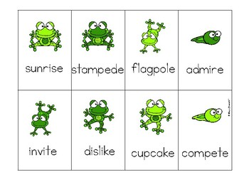 Multisyllabic CVCCVCE Phonics Game