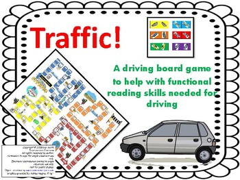 Multisyllabic Decoding with Suffixes Traffic Game (Gr. 3-6)