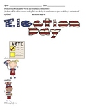 Multisyllabic Election Day Words for Speech and Vocabulary Development