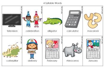 Multisyllabic Flashcards