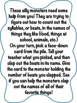 Multisyllabic Monsters