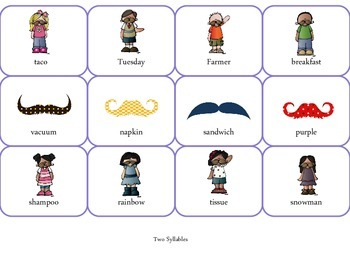 Multisyllabic Mustaches