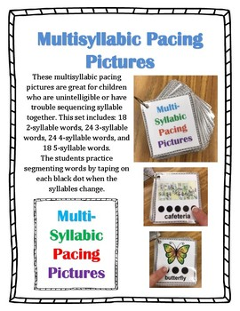Multisyllabic Pacing Pictures