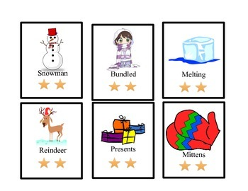 Multisyllabic Stars: Syllable Cards and Sorting Mat