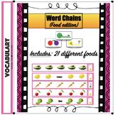 Multisyllabic Word Chains (Food-theme)