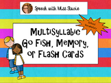 Multisyllabic Word Games