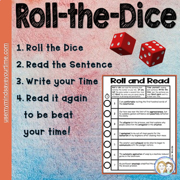 Multisyllabic Word Games (Sentence Fluency)               Distance Learning Tool