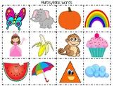 Multi Syllable Words Speech Practice