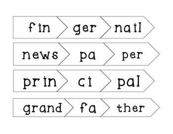 Multisyllabic Word Puzzles
