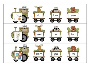 Multisyllabic Word Trains
