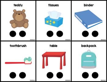 Multisyllabic Words: Artic, Phonological Awareness, Apraxia, Speech Therapy