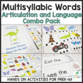 Multisyllabic Words Speech Articulation and Language Activ