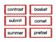 Multisyllabic Words -- Closed Syllables
