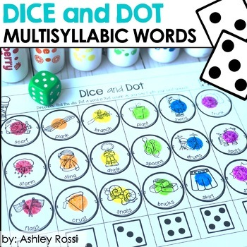 Multisyllabic Words: Dice and Dot