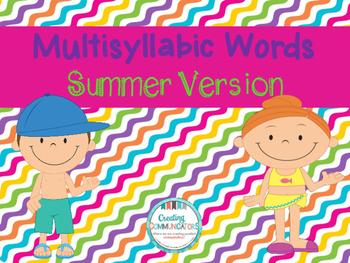 Multisyllabic Words Freebie!