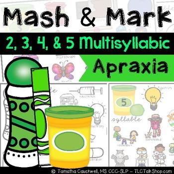 Apraxia Mash & Mark: Multisyllabic Words