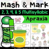 Apraxia Mash & Mark: Multisyllabic Words