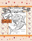 Decoding Multisyllabic Words SHARKS COLORING PAGES