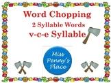 Multisyllabic Words VCE Syllables