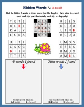 Multisyllabic Words (a game like Boggle)