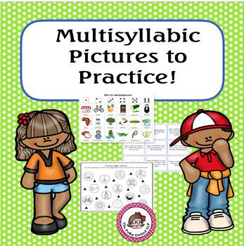 Multisyllabic Words to Practice