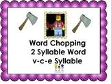 Multisyllabic Words v-c-e syllables
