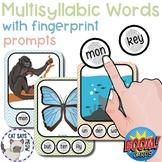 Multisyllabic Words Bundle Fingerprint Prompts(marking syl