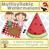 Multisyllabic watermelons