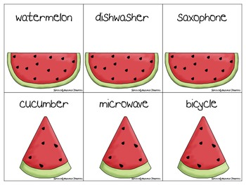 Multisyllabic watermelons