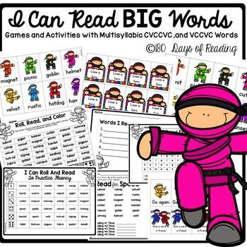 #christmasinjuly CVCCVC  multisyllabic word reading