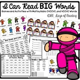 Multisyllable words CVCCVC Games and Activities for Fluency