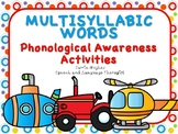 Multisyllabic words