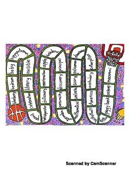 Multisyllable Board Game