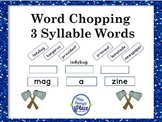 Syllable Bonanza - 3 Syllable Words