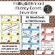 NOVEMBER Multisyllabic Games Word Fluency Literacy Center Big Words Pack