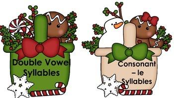 Multisyllable Word Sort December Baskets