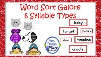 Multisyllable Word Sort Galore