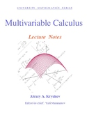 Multivariable Calculus: Lecture Notes—Alexey A. Kryukov