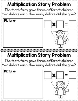 Multlipication Story Problems